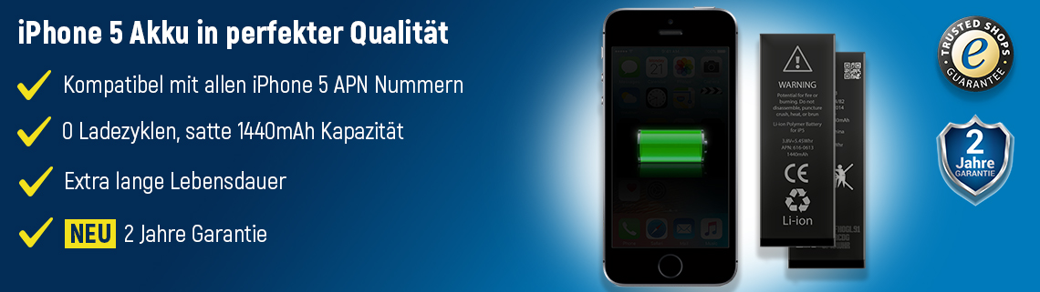 iPhone 5 Akku-Set