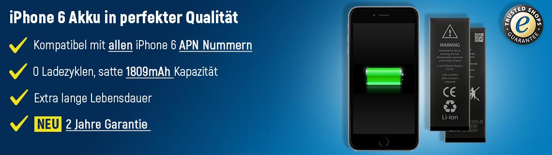 iPhone 6 Akku Set