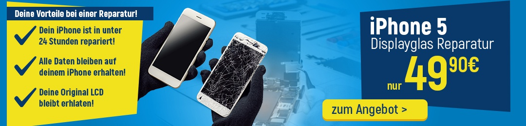 iPhone 5 Reparatur Service