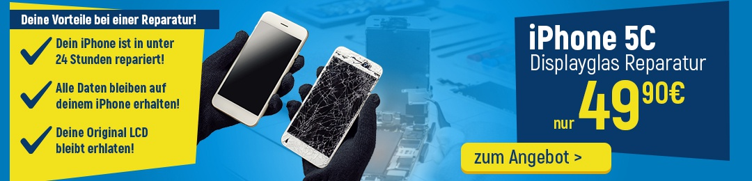 iPhone 5C Display Reparatur