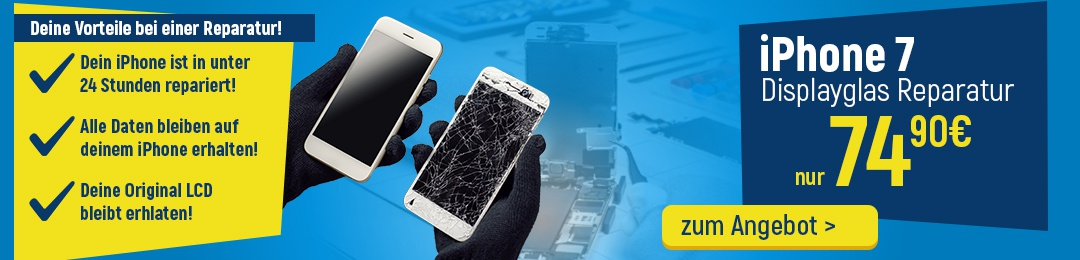 iPhone 7 Display Reparatur Service