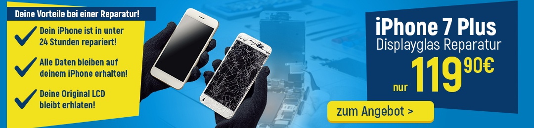 iPhone 7 Plus Display Reparatur Service