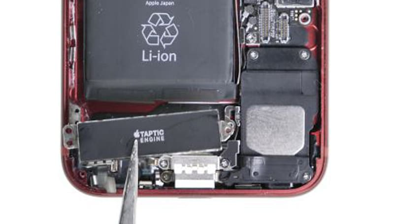 iphone 7 taptic engine entfernen