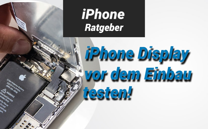 Ratgeber - iphone display testen