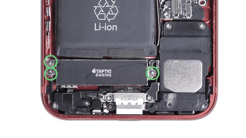 iphone 7 taptic engine schrauben