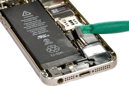 iphone 5s se akku anschluss entf