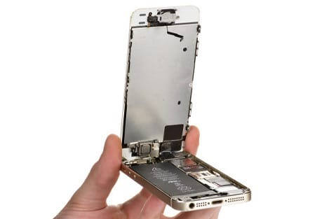 iphone 5s se display aufklappen