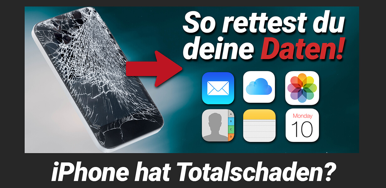iphone daten retten