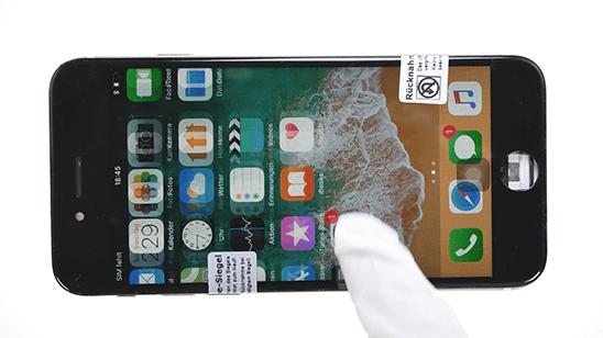 iphone display testen 8