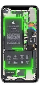 iphone 11 pro live hintergrund gruen