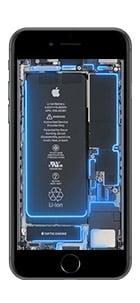 iphone 6 7 8 live hintergrund blau