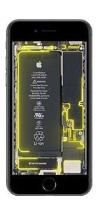 iphone 6 7 8 live hintergrund gelb