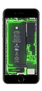 iphone 6 7 8 live hintergrund gruen