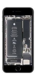 iphone 6 7 8 live hintergrund weiss