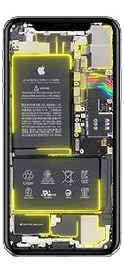 iphone xs max live hintergrund gelb