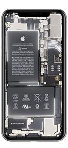 iphone xs max live hintergrund weiss
