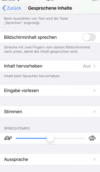 iphone text vorlesen lassen 4