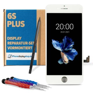 iPhone 6S Plus LCD Retina Display + Touchscreen weiss...