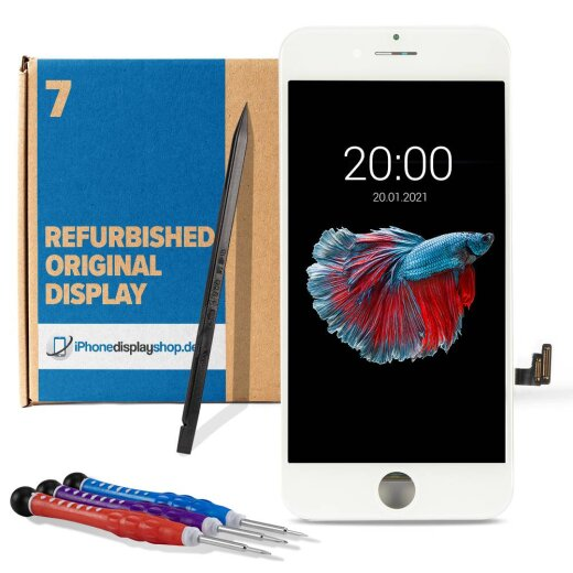 iPhone 7 Display Weiß Refurbished